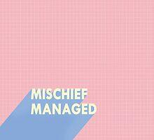 mischief managed.  by patsmrkt