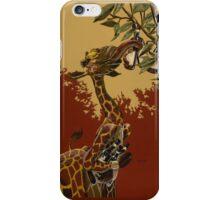 Wine Giraffe iPhone Case/Skin