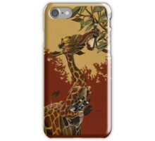 Wine Giraffe iPhone Case/Skin