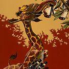 Wine Giraffe by darickmaasen