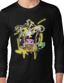 Cow Happy Long Sleeve T-Shirt