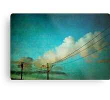 Late Evening Sky Metal Print
