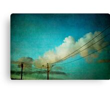 Late Evening Sky Canvas Print