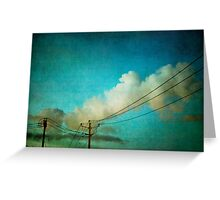 Late Evening Sky Greeting Card