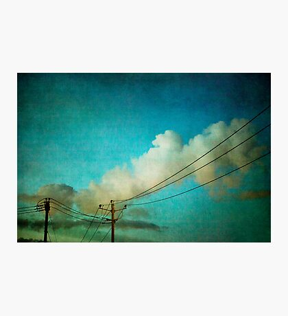 Late Evening Sky Photographic Print