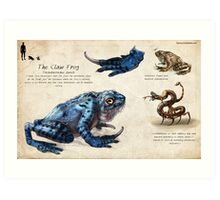 The Claw Frog Art Print
