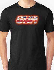 GBR - Great Britain - Flag Logo - Glowing Unisex T-Shirt