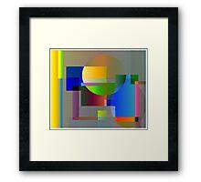 Math Framed Print