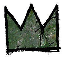 "Basquiat ""King of Hartford Connecticut"" Photographic Print"