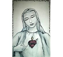 Mary Immaculate Photographic Print