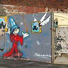 Mickey Mouse Graffiti by KUJO-Photo