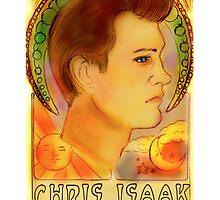 """""""Chris Isaak, June 26, 1956"""" by Monica Lara"""