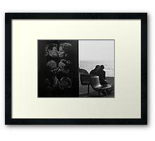 Kissing Couples, Brighton Framed Print