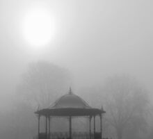 Bandstand in the Morning Mist by KUJO-Photo