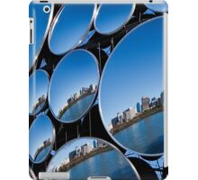 Golden Casket Light Sphere, Brisbane CBD reflection. iPad Case/Skin