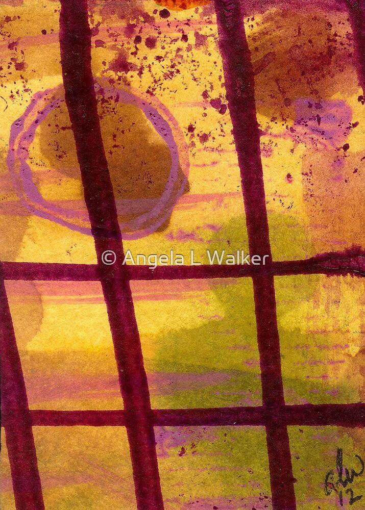 The Shadow Outside My Window by © Angela L Walker