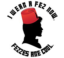Doctor Who Fez Photographic Print