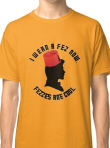 Doctor Who Fez Classic T-Shirt