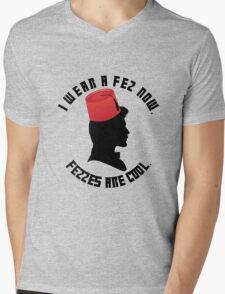Doctor Who Fez Mens V-Neck T-Shirt