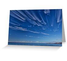 Cape Wrath Cloud Race Greeting Card