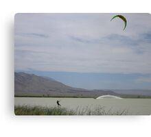Flying Canvas Print