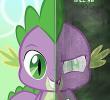 Two Sides- Spike by TehJadeh