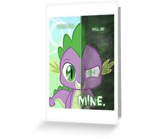 Two Sides- Spike Greeting Card
