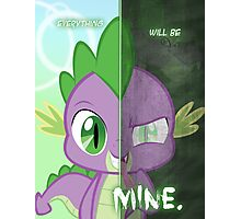 Two Sides- Spike Photographic Print