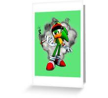 Chronic The Hedgehog Greeting Card