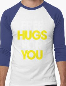 Free Hugs For You Men's Baseball ¾ T-Shirt