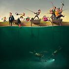 Fishing by Komiksar