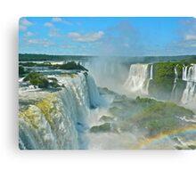 Mighty Iguazu Canvas Print