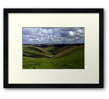 Devil's Dyke Framed Print