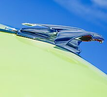 1953 Chevrolet Pickup Truck Hood Ornament by Jill Reger