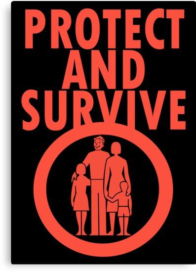 Protect And Survive Boy by strictlychem
