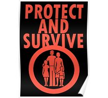 Protect And Survive Boy Poster
