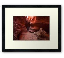 Coils of Rattlesnake Canyon Framed Print