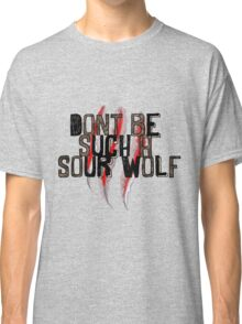 Don't be such a sour wolf Classic T-Shirt