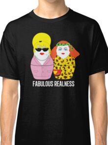 Fabulous Realness Black Classic T-Shirt