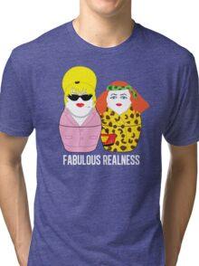 Fabulous Realness Black Tri-blend T-Shirt