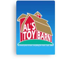 Al's Toy Barn Canvas Print