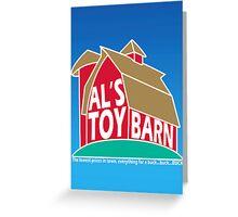 Al's Toy Barn Greeting Card