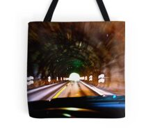 God bless artist and one hand driving a car in the tunell  photographers & freakes like Brown Sugar.  Thank you My Lord ! 4 my life ! Amen . Tote Bag