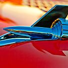 1957 Chevrolet Belair Hood Ornament 3 by Jill Reger