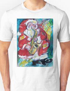 SANTA AND SAX, CHRISTMAS PARTY T-Shirt