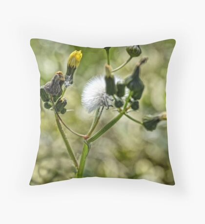 The Humble Dandelion Throw Pillow