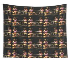 Highway Lights Wall Tapestry