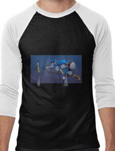 Sly's Clue Bottle Catastrophe Men's Baseball ¾ T-Shirt