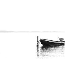 Lonely boat by martijndevalk
