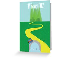 Wizard of Oz Reimagined Greeting Card